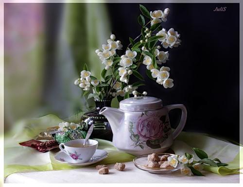 чай против аллергии