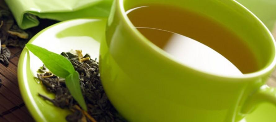 Настоящий зеленый чай