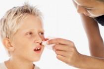 Cильное носовое кровотечение