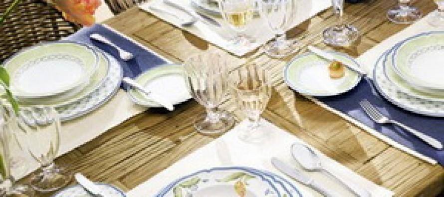 Столовая посуда — едим правильно
