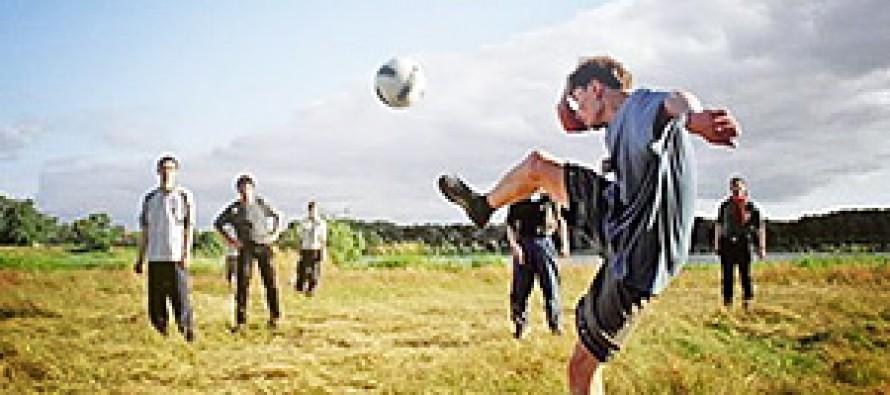 Оборудуем футбольную площадку