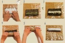 Из чего готовить суши?