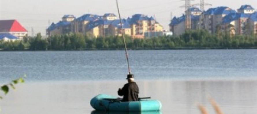 Рыбак без лодки?