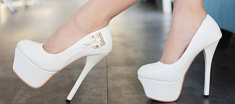 Брендовые туфли на каблуке