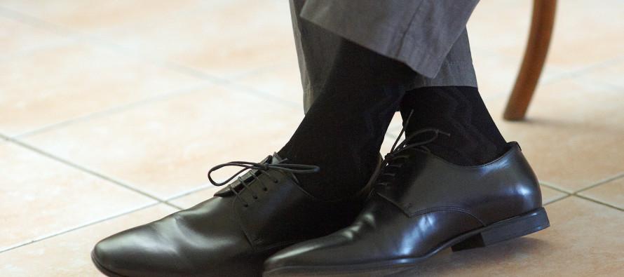 Как определить характер мужчины по носкам