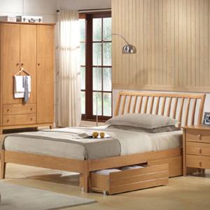 Статистика говорит, что наибольшей популярностью деревянные кровати пользуются для детей и молодых семей.