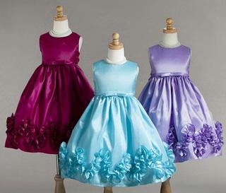 выбираем красивое детское платье