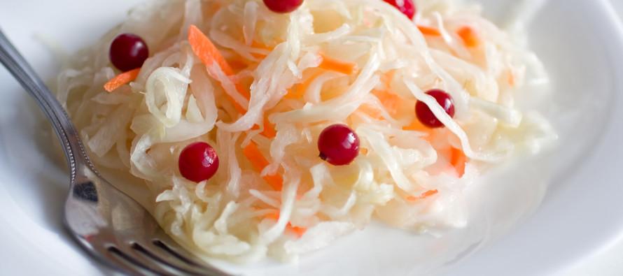 Почти национальная диета — с квашеной капустой!