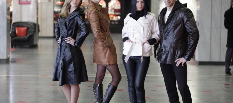 Кожаная куртка — будь на острие моды