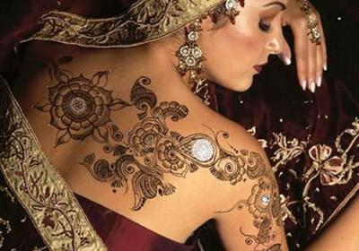 Где применяется индийская хна?