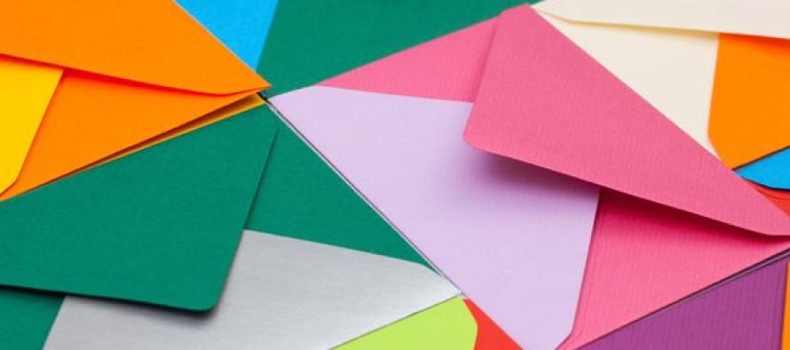 Цветные конверты